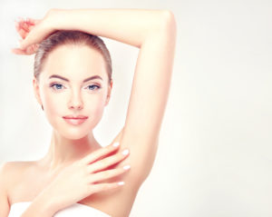 laser hair removal in armpits